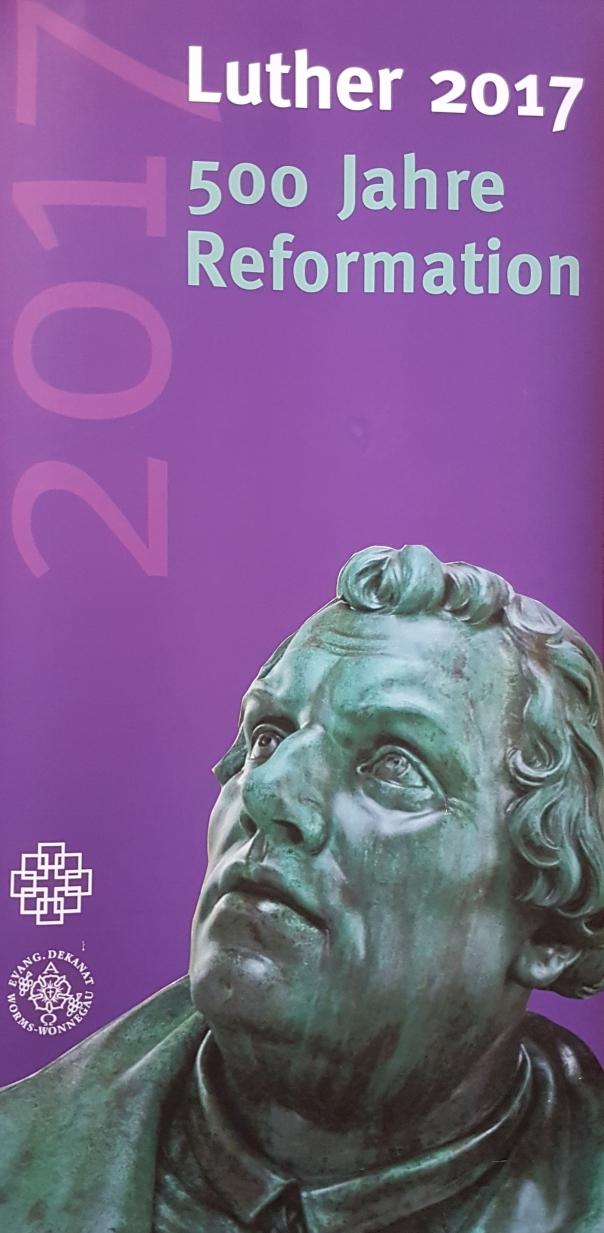 Plakat 500 Jahre Reformation