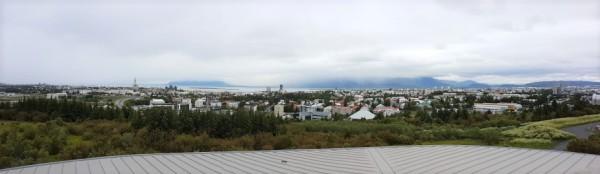 AIDAluna_Island_Reykjavik_Panorama_vom_Perlan_aus