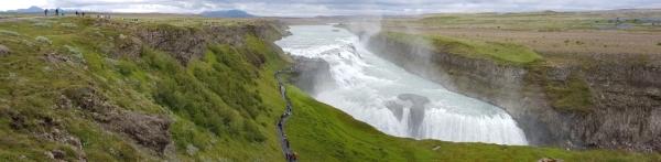AIDAluna_Island_Reykjavik_Wasserfall_Gullfoss_Panorama