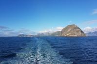 Abfahrt von Tromsø