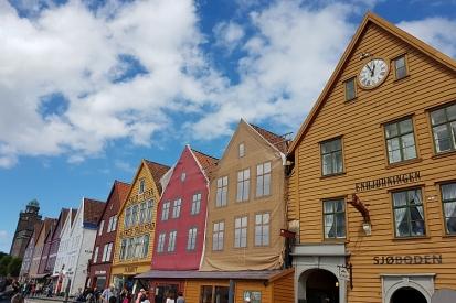 Bergen Hanseviertel Bryggen