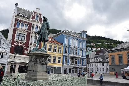 Bergen - Ludvig Holberg - dänisch-norwegischer Dichter