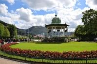 Bergen Musikpavillon im City Park