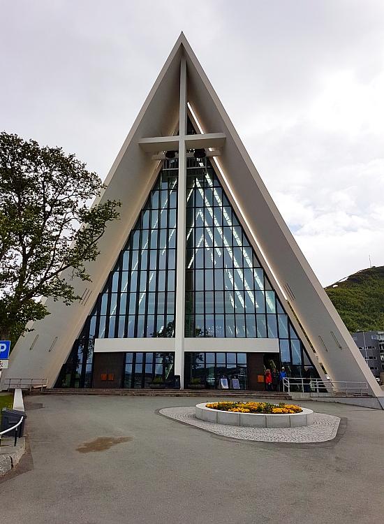 Tromsø Eismeerkathedrale Eingang