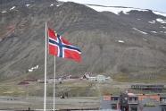 Willkommen in Spitzbergen Norwegen