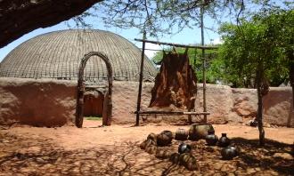 Hütte der Zulus