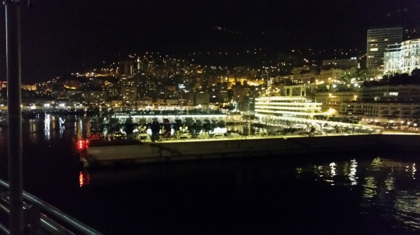 Monaco Abend