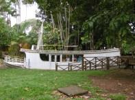 Nachbildung eines Amazonasschiffes