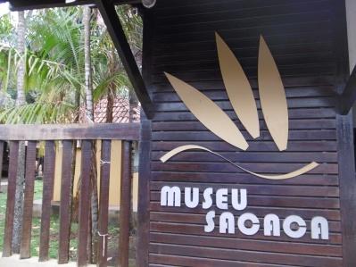 Eingang Sacaca Museum
