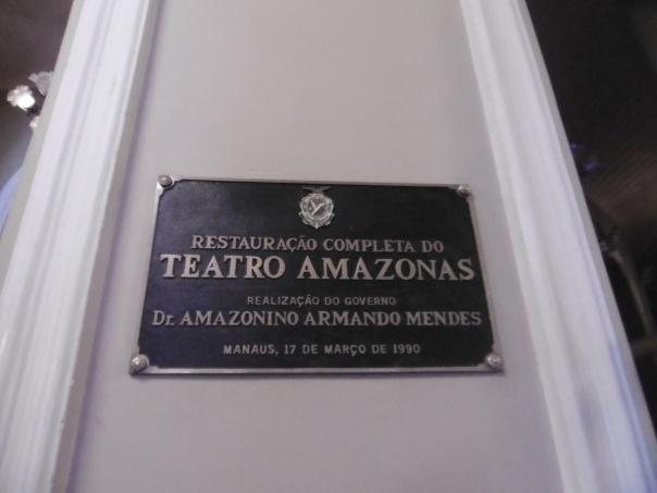 Manaus 21 Teatro Amazonas