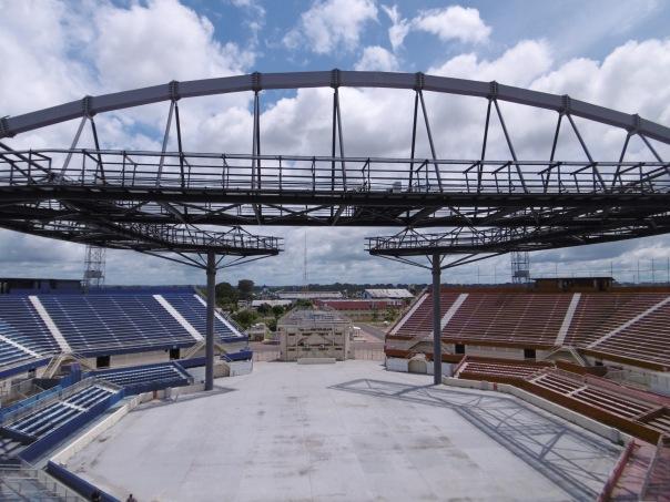 Parintins 29 Stadion innen