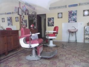 nostalgischer Friseur