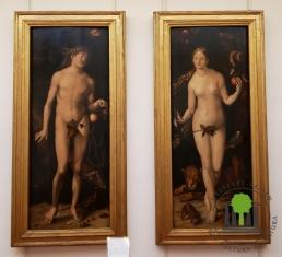 Adam und Eva - Hans Baldung Grien