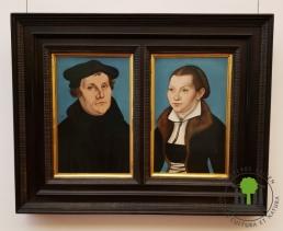 Doppelporträt Martin Luther und Katharina Bora