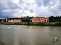 Blick auf den Fluss Arno 1