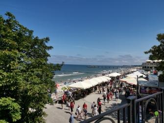Strandpromenade von Kolberg