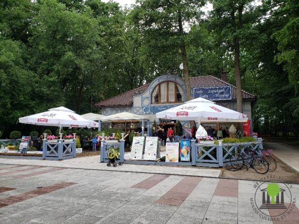 unsere Unterkunft an der Promenade von Kolberg