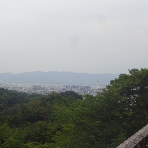 Blick auf Kyoto