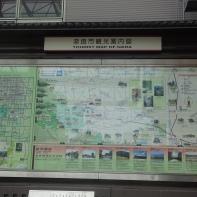 Übersichtsplan von Nara