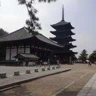 fünfstöckige Pagode von Nara