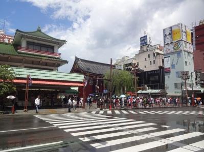 Blick auf das Kaminarimon-Tor