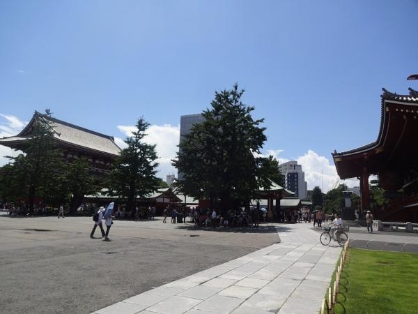Nebengebäude des Sensoji Tempels