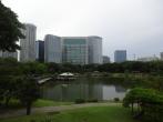 See des Hama Rikyu Garten
