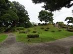 Gartenkunst im Hama Rikyu Garten