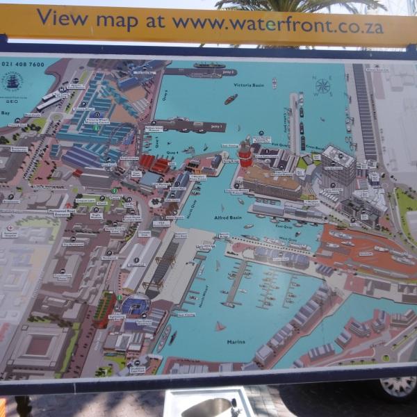 Übersichtsplan der Waterfront
