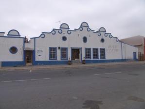 Durch die Straßen von Lüderitz