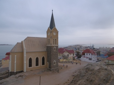 Felsenkirche über Lüderitz