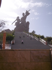 Monument der afrikanischen Renaissance